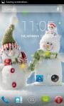 Snowman Live Wallpaper Best screenshot 3/4