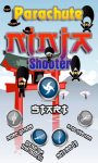 Parachute Ninja Shooter Save Adventure Skydive Man screenshot 3/6