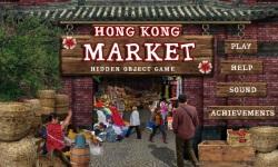 Free Hidden Object Game - Hong Kong Market screenshot 1/4