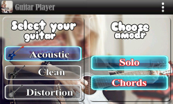 Super Guitar Player screenshot 1/4