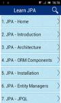 Learn JPA screenshot 1/2