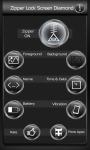Zipper Lock Screen Diamond screenshot 2/6