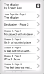 Young Adult EBook  - The Mission screenshot 4/4