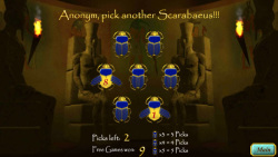 Slot Tales Scarabaeus Scatter screenshot 3/3
