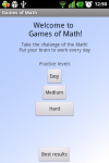 GamesOfMath screenshot 1/5