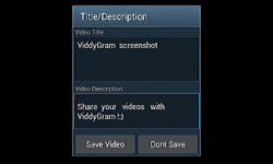 ViddyGram screenshot 4/5