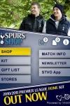 Tottenham Hotspur Official Shop screenshot 1/1