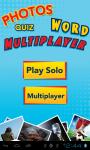 4 Pics 1 Word Multiplayer Quiz screenshot 1/3