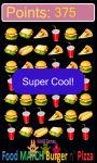 food match burger and pizza game free screenshot 3/5