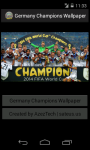Germany Champions 2014 World Cup Wallpaper screenshot 2/6