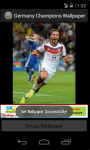 Germany Champions 2014 World Cup Wallpaper screenshot 5/6
