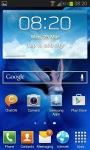 Skygirl Live Wallpaper screenshot 2/3
