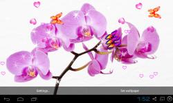 Blue Orchid Live Wallpaper screenshot 5/5