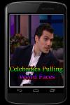 Celebrities Pulling Weird Faces screenshot 1/3