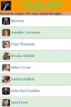 Celebrities Pulling Weird Faces screenshot 2/3