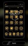 Gold Theme black gold diamond screenshot 3/4