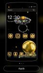 Gold Theme black gold diamond screenshot 4/4