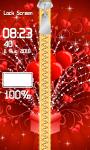 Zipper Lock Screen Love screenshot 4/6