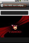 Yahoo Wallpapers screenshot 2/2