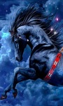 Black Horse Live Wallpape screenshot 1/3