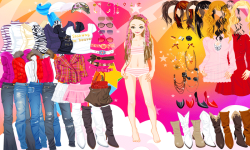 Fashion Dress Up Now screenshot 1/4