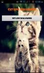 Cat Kitten Live Wallpaper Best screenshot 1/4