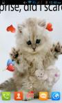 Cat Kitten Live Wallpaper Best screenshot 2/4