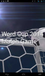 World Cup 2014 Match Game screenshot 1/6