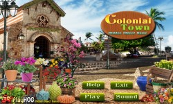 Free Hidden Object Game - Colonial Town screenshot 1/4