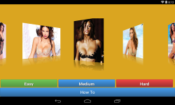 Adriana Lima Jigsaw Puzzle game screenshot 1/4