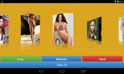 Adriana Lima Jigsaw Puzzle game screenshot 2/4