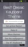 Best Classic Keyboard Theme screenshot 5/6
