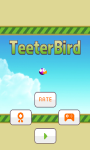 Teeter Bird - Flappy Bird Version screenshot 1/5