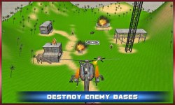 Gunship Battle War Fight 3D screenshot 2/4