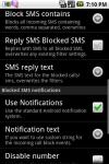 SMS Blocker Lite Free screenshot 3/6