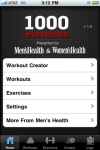 1000 Exercises by Mens Health and Womens Health screenshot 1/1