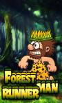 Forest Man Runner - Free screenshot 1/4