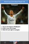 World Cup 2014 Best Player HD Wallpaper screenshot 5/6