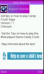 Candy Crush gaming Tips screenshot 1/1
