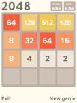 2048 Javame screenshot 1/3