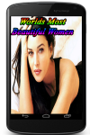 Worlds Most Beautiful Women  screenshot 1/3