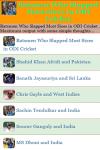 Batsmen Who Slapped Most Sixes in ODI Cricket screenshot 2/3