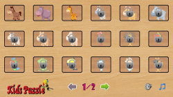 kids animal puzzle screenshot 4/6