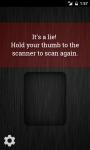 Lie Detector Fingerprint Scanner screenshot 3/3