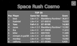 Space Rush Cosmo Lite screenshot 6/6