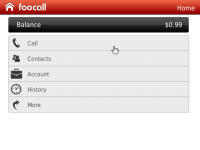 Cheap international calls - FooCall screenshot 4/5