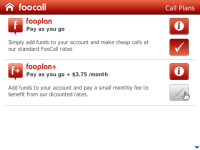 Cheap international calls - FooCall screenshot 5/5