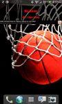 LA Lake Basketball Scoreboard Live Wallpaper screenshot 1/4