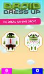 Droid Dress up screenshot 1/3