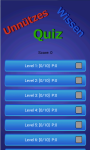Useless knowledge - Quiz screenshot 2/5